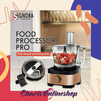 SIGNORA - New Food Processor Pro [AGEN RESMI JAKARTA]