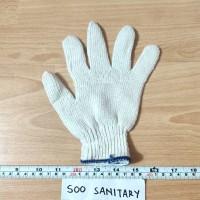 Sarung Tangan Katun 5 Benang (2pcs) - Safety Glove Proyek