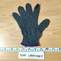 Sarung Tangan Katun Abu-Abu Go Save (2pcs) - Safety Glove Proyek
