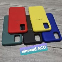 Silicone Cover Case Oppo A92 / Oppo A52 Silikon Soft Case Softcase