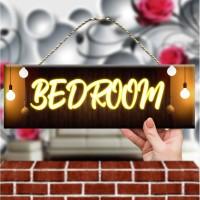 Hiasan Dinding Poster Kayu Gantungan Pintu Kamar Tidur Dekorasi ST2