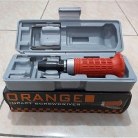 ORANGE Obeng Ketok Impact Driver Set 6 Pcs no 2800 vessel