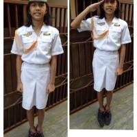 Baju/kostum/stelan profesi TNI KOWAL anak size 1-4 (tk)