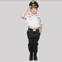 Baju/kostume/stelan profesi DISHUB anak size 1-4 (tk)