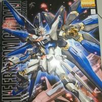 Bandai Original MG Strike Freedom Gundam Include stand base