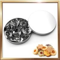 Cookie Cutter/ Biskuit Mold/ Cetakan Kue Kering Stainless