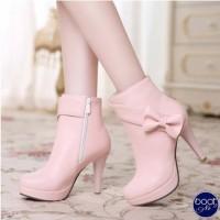 Sepatu Boots Zyra Hak Tinggi LS22