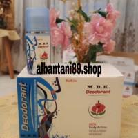 roll on MBK deodorant pria - biru 40 ml