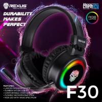 Rexus F30 Vonix RGB Dual Jack with USB Gaming Headset