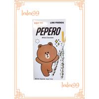 Pepero Stick Biskuit White Chocolate 38gr