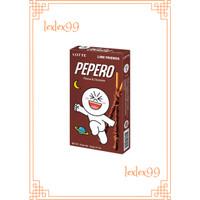 Pepero Stick Biskuit Peanut & Chocolate 38gr