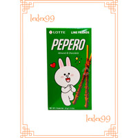 Pepero Stick Biskuit Almond & Chocolate 32gr