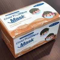 Face Mask Anak , Masker anak earloop 3ply