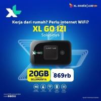XL Go IZI Mifi Antena Router Modem Wifi 4G Huawei E5577 MAX 3000mAh