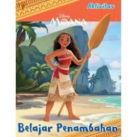 Buku Aktivitas PAUD TK Berhitung dot to dot DIsney Moana