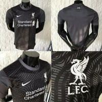 JERSEY BOLA LIVERPOOL GK HITAM NEW 2020/2021_KITIANG COLECTION