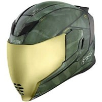 Visor Icon Airflite Iridium Gold