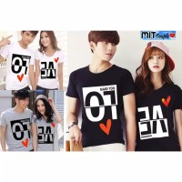 KAOS BAJU COUPLE LOVE INVERSION