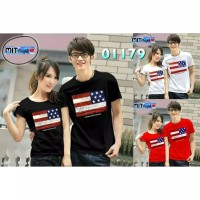 KAOS BAJU COUPLE OB USA