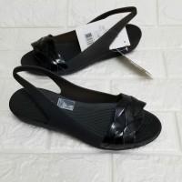 Sepatu Sendal Wanita Crocs Isabella Flat Original