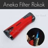 Korek Api Bara  Single Jet Flame Lighter   HONEST BCZ493-1