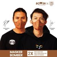 Masker Bowin X Chicco Jerikho / Special Edition 4lapis / Filosofi Kopi