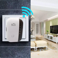 Wifi Repeater 300Mbps Access Point Wireless Penguat Sinyal Amplifier