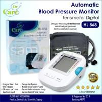 Dr Care Tensimeter Digital / Automatic Blood Pressure Monitor HL 868