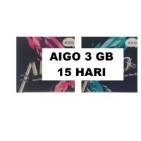 VOUCHER PAKET DATA AXIS AIGO 3 GB 15 HARI ( VC MINI 3GB NASIONAL )