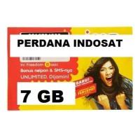 KARTU PERDANA PAKET DATA INDOSAT 7 GB +UNLIMITED APPS ( SP ISAT 7GB )