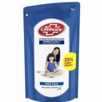 Lifebuoy Body Wash Sabun Mandi Cair Refill Mild Care 900 ml