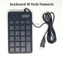 Keyboard Numerik Angka USB Mini Portabel untuk Laptop termurah