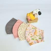 masker kain 2 ply dengan kawat penyangga