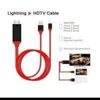 KABEL HDTV LIGHTING IPHONE TO HDMI VIDEO KABEL IPHONE