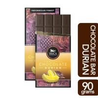 WoCA Premium Chocolate Bar - Cokelat Batang Rasa Durian - 90 gram