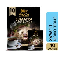 WoCA Kopi Luwak Sumatra Premium 10 Sachets