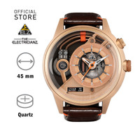 Jam Tangan ELECTRICIANZ The Soprano Z Skeleton Rose Gold
