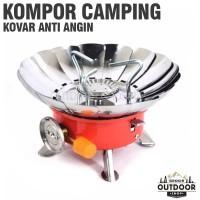 Kompor Mawar Anti Angin Portable Kovar - Kompor Camping Outdoor Gunung