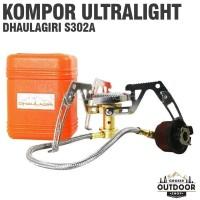 Kompor Ultralight Dhaulagiri Sh S302a+Adaptor - Kompor Camping Outdoor