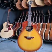 Gitar Akustik Custom Yamaha APX 500 II Sunburst