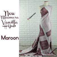 HijabersTex 1/2 Meter Kain NEW MAXMARA Vanilla Hijab Referensi