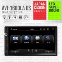 AVI Head Unit Deckless Double Din Universal Mobil Mirrorlink d Android