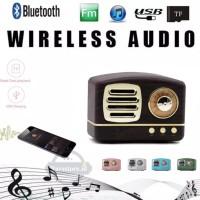 Speaker Bluetooth Klasik Wireless Bluetooth Audio Mini Portabel Clasic