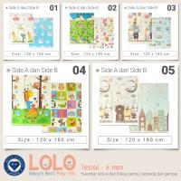 [GRATIS ONGKIR] Karpet LOLO Basic 120X180 Playmat Anak (PILIHAN) - LOLO 01