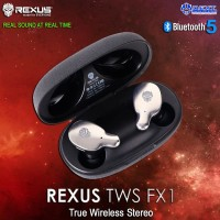 Rexus TWS FX1 Wireless Gaming Earphone