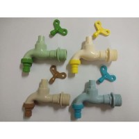 FIT KRAN AIR PVC TAMAN 3/4 INCH KERAN TAMAN MODEL CABUT KUNCI TERMURAH