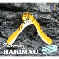 Mainan Tradisional Bumerang Boomerang HARIMAU Outdoor Long Range
