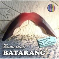 Mainan Anak Edukatif Tradisional Sport Fun Bumerang Boomerang Batarang