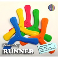Bumerang Boomerang Runner Mainan Anak Edukatif Tradisional Sport Fun