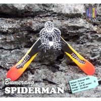 Bumerang Boomerang SPIDERMAN Outdoor Mainan Edukatif Tradisional